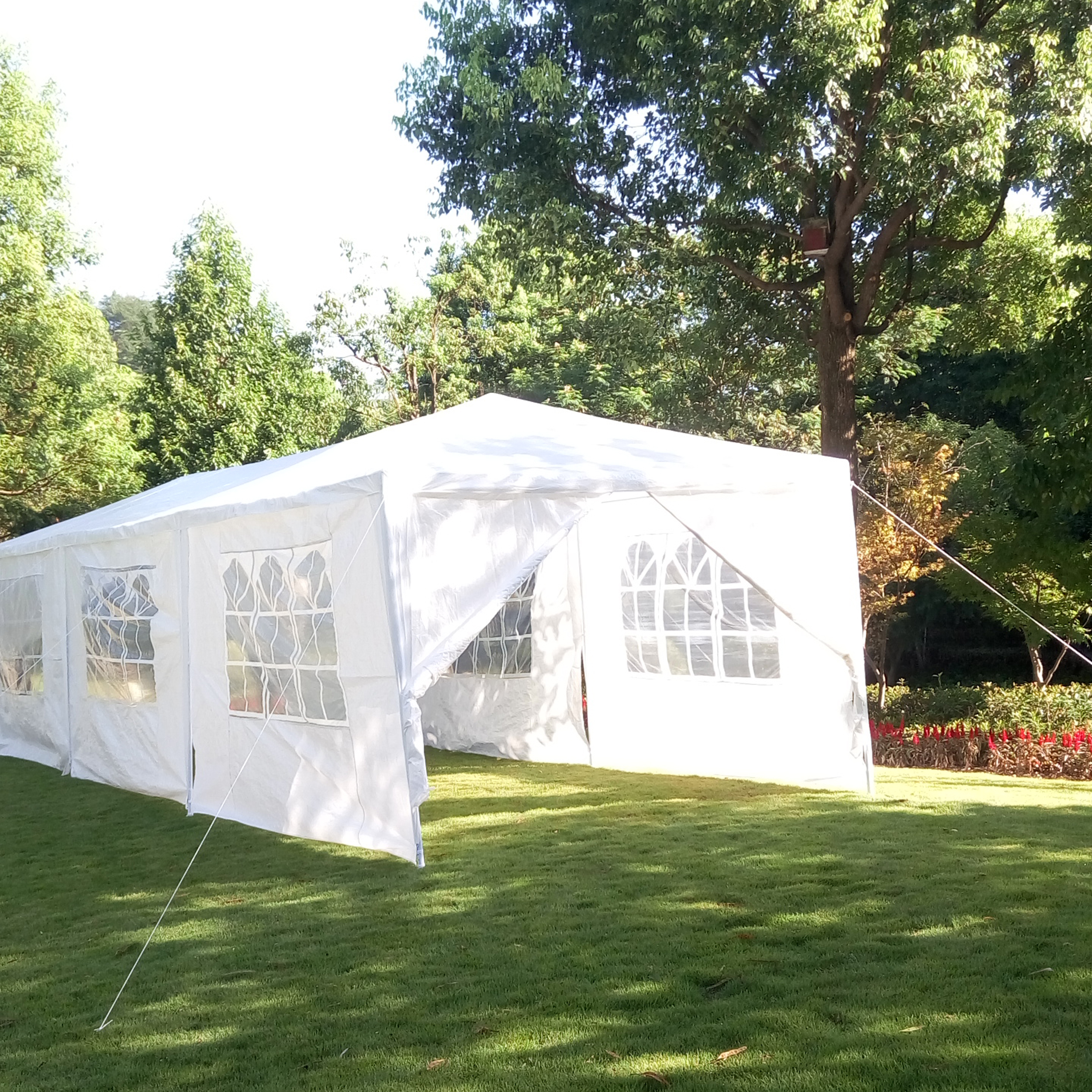 Wedding Tents For Sale: 10'x30'White Outdoor Gazebo Canopy Wedding Party Tent With