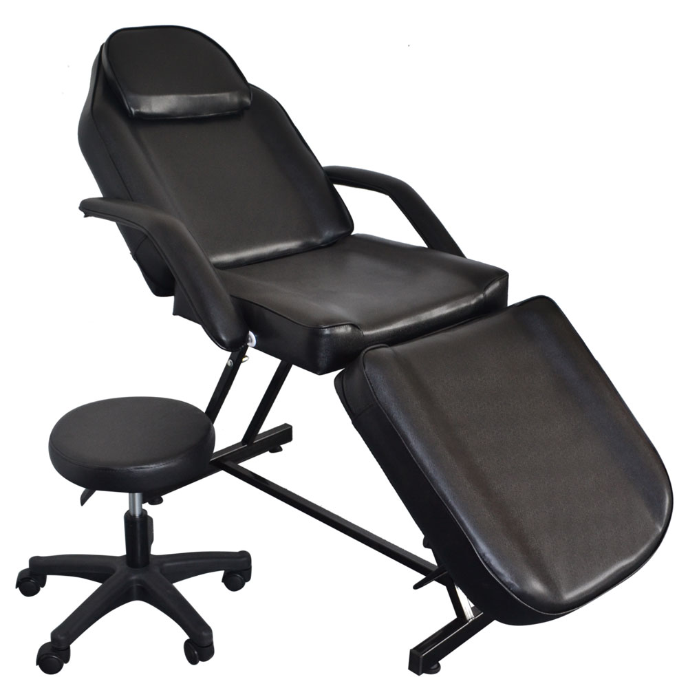 Adjustable Spa Facial Tattoo Massage Bed Chair Beauty