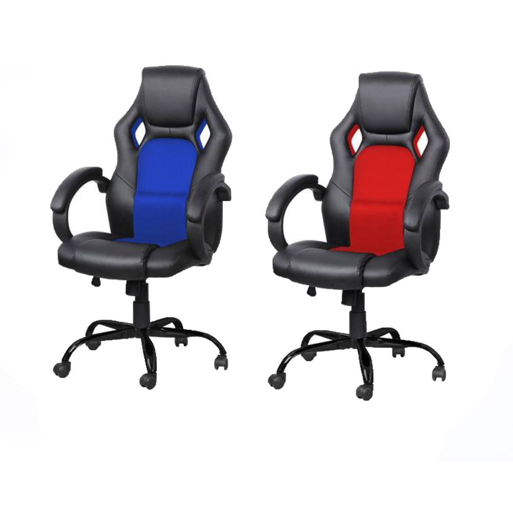 Race Car Style Bucket Seat Office PC Desk Chair Gaming Chair High - Pc desk and chair