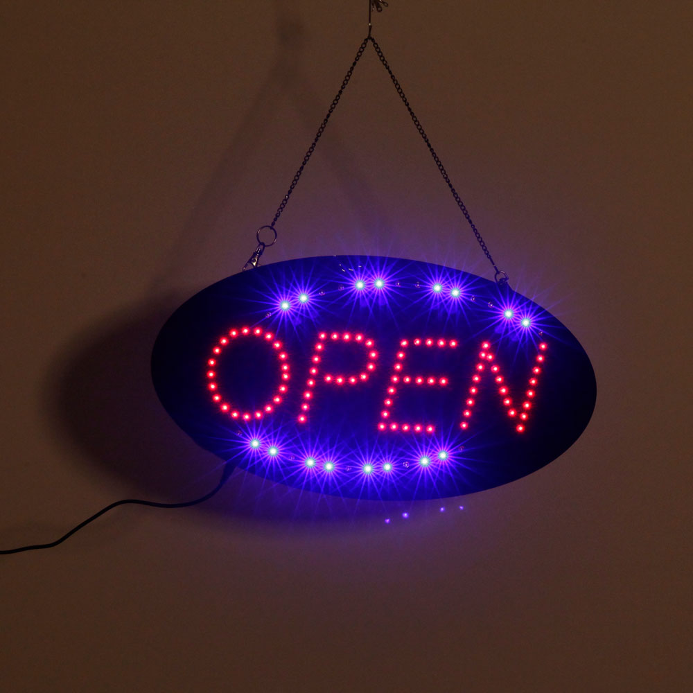 Neon Light Shop In Philippines: LED Scrolling Neon Light Open Sign Store Shop Hanging