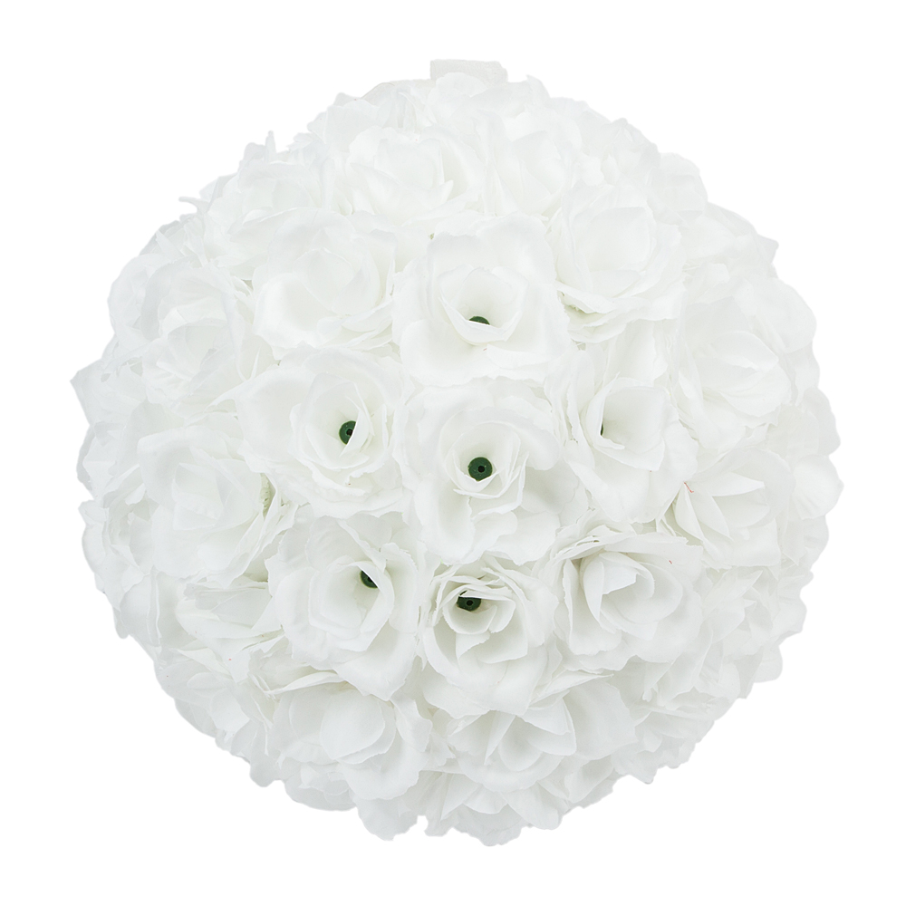 25cm Flower Wedding Kissing Ball Rose Party Pomander Home Holiday