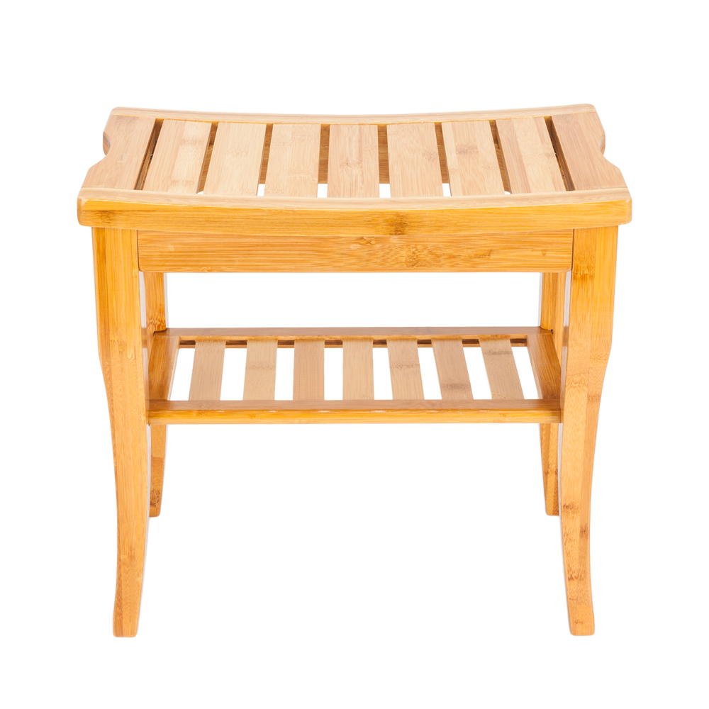 Pleasing Details About Wooden Shower Stool Wood Bathroom Bench Seat Bamboo Bath Spa Sauna Chair Shelf Download Free Architecture Designs Grimeyleaguecom