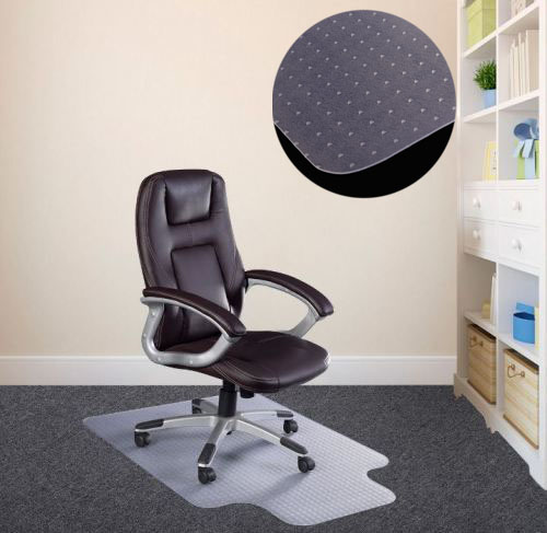 new pvc mat home office carpet hard protector desk floor chair tranparent ebay. Black Bedroom Furniture Sets. Home Design Ideas
