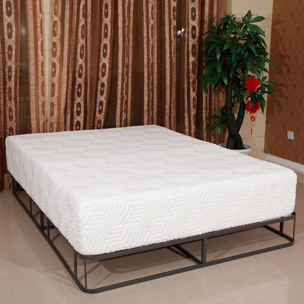 High quality 8 queen size gel cool firm memory foam for Cool high beds