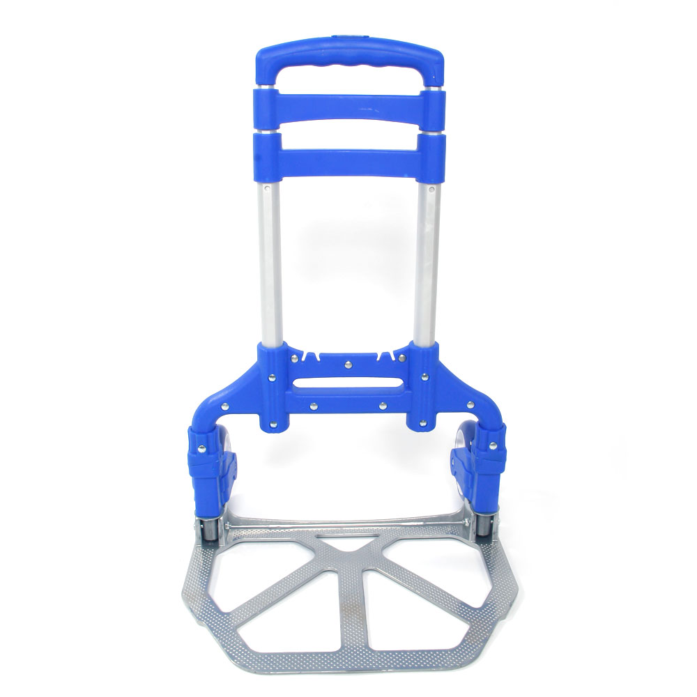 Marvelous Details About Cart Folding Dolly Push Truck Trolley Luggage Aluminium Bungee Cord For Luggage Machost Co Dining Chair Design Ideas Machostcouk