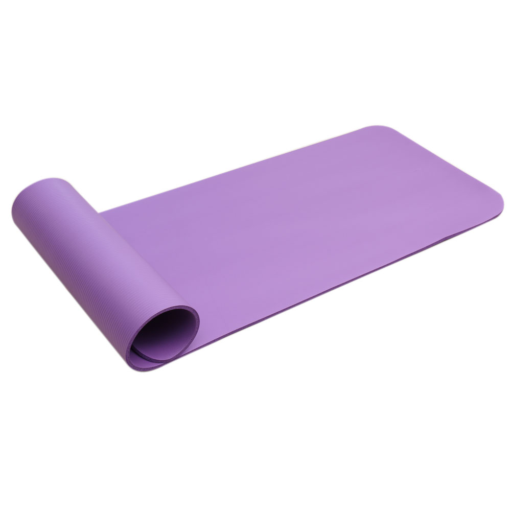8mm Extra Thick 71-Inch Long NBR Foam Yoga Mat Fitness Pad