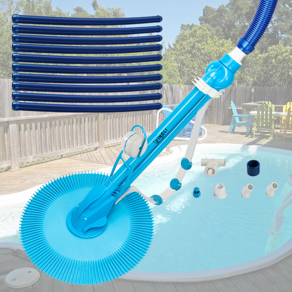 Details about Automatic Pool Cleaner Vacuum Climb Wall Inground Above  Ground Swimming Generic